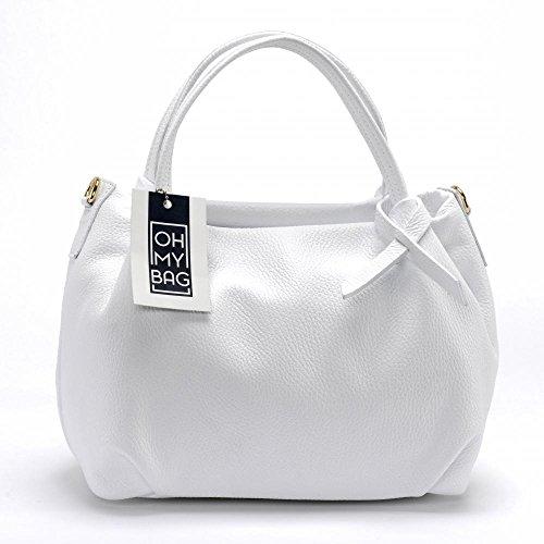 OH MY BAG Sac à Main femme cuir porté main et bandoulière Modèle Bubble Nouvelle collection - SOLDES