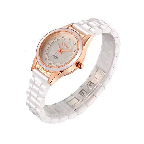 EJOLG 2018 Edel Luxus Geschäft Frau Armbanduhren,Art- Und Weiseklassiker-Wasserdichte Keramikuhr Der Damen, Freizeitsport Taucher Uhren Frau Ms Uhr