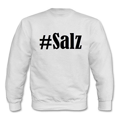 Reifen-Markt Sweatshirt #Salz Größe 2XL Farbe Weiss Druck Schwarz - Markt Salz