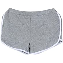 VENMO Mujeres Deportes Gimnasio Ejercicio Cintura Flaca Yoga Pantalón Corto