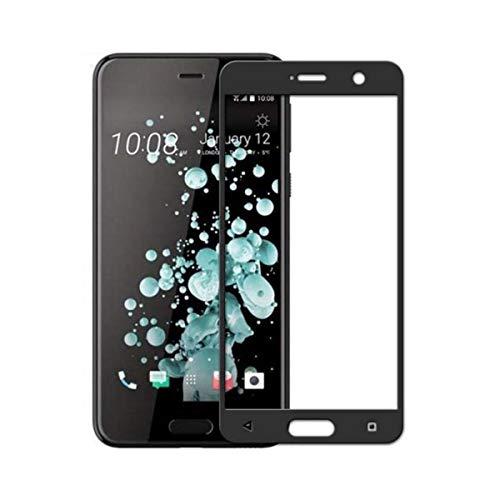 YAHOA Bildschirmschutz Full Cover Tempered Glass for U Ultra/U Play/Dual SIM/Uplay Uultra 5.2 5.7 Inch Screen Protector Protective Film for HTC U Ultra Black Htc Hero Screen Protector
