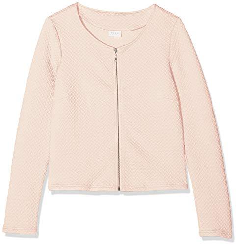 Vila Clothes Vinaja New Short Jacket-Noos, Chaqueta de Traje Mujer, Rosa (Peach...