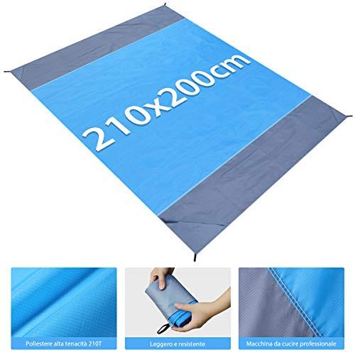 Zoom IMG-2 merisny coperta da spiaggia tappetino