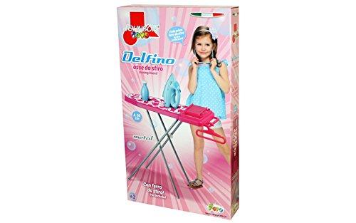 Unogiochi 5505Johnson Delfino Metall Bügeltisch Spielzeug