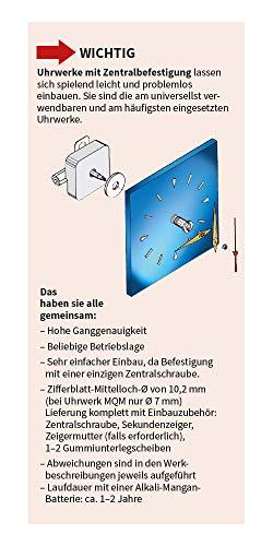 """Funkuhrwerk FK """"German Technology"""" Zeigerwerklänge bis 19,5 mm – C336462 - 6"""