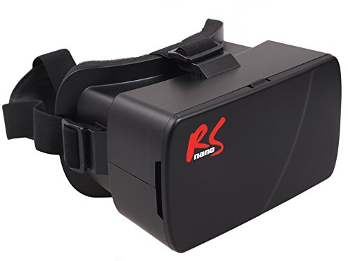 NanoRS RS510 3D Brille Google Cardboard für Smartphone 3,5 – 6' Smartphone Virtual Reality...