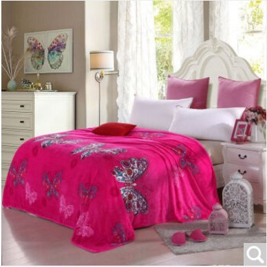 BDUK Fallay fusselfreien Tuch Flanell Decke 4. Quartal und Studenten mehr Single Twin Decken Bettwäsche ,E1,1.8*2 Decke ist M
