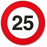 DankeDir! 25. Geburtstag Kunststoff Schild (20 x 20 cm), Geschenk 25. Geburtstag Bester Freund/Freundin, Geschenkidee Geburtstagsgeschenk 25ten Geschenk 25er Geburtstagsparty