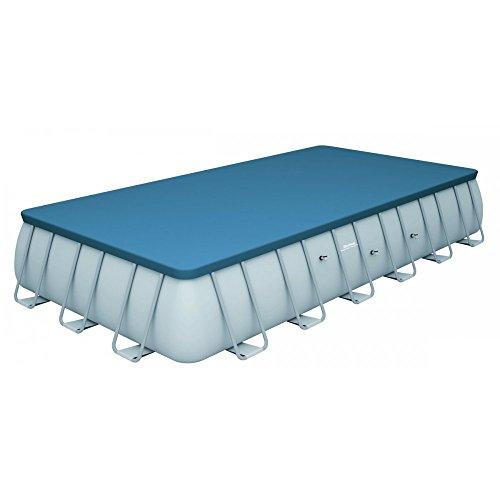 Bestway Telo copertura copri per piscina rettangolare 732 x 366 x 132 cm