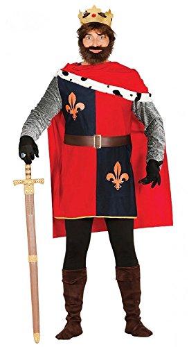 shoperama Wilhelm der Eroberer Herren-Kostüm Gr. M/L König von England (Prinz Von England Kostüm)