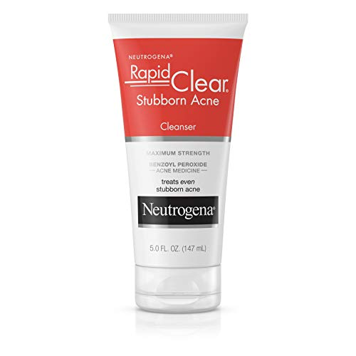 Neutrogena Rapid Clear Stubborn Acne Cleanser, 5 Oz