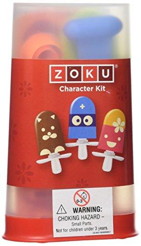 Zoku ZK108 - Juego de accesorios para hacer helados