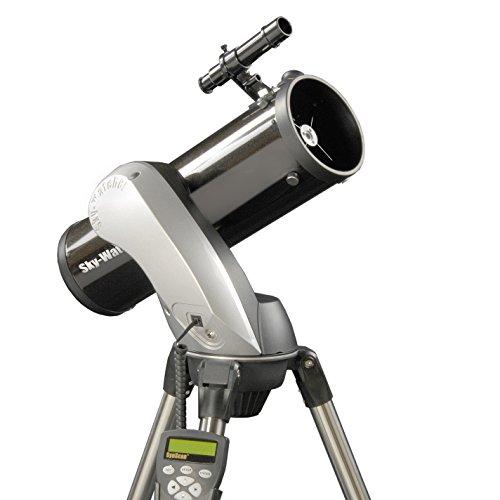 Skywatcher Skyhawk-1145P SynScan AZ GOTO (11,4 cm (4,5 Zoll), f/500)  Computer gesteuerter Newton mit parabolischem Spiegel schwarz