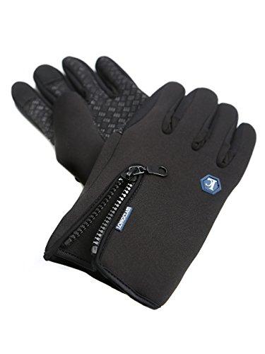 Trainingshandschuhe Herren schwarz ELASTO Fitness Handschuhe Herren L MTB Handschuhe Herren Handschuhe Fahrrad Nordic Walking Handschuhe...