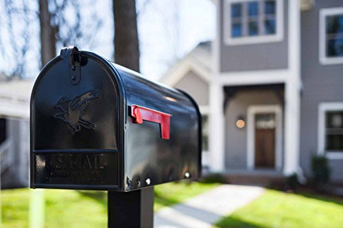 Original U.S. Mailbox – ELITE – Stahl – schwarz – Gr. T1 Art. E1100B00 - 2