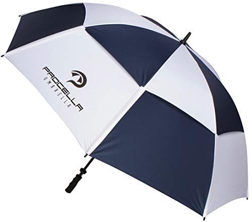 Meilleur Grande Oversize Parapluie de golf par Procella Parapluie 172,7 cm coupe-vent Vented Canopy...