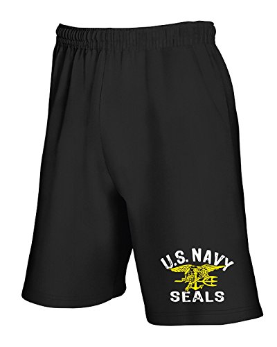 Schwarz Us Navy Seal (Jogginghose Shorts Schwarz OLDENG00705 us Navy Seals)