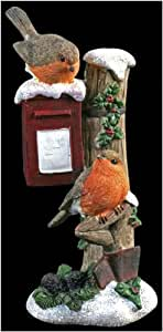 Robins on Postbox Ornament Christmas Decoration