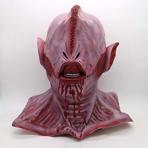 YXXHM- Alien Horror Mask Halloween Latex Requisiten Atemberaubende Stirnband Filme Und Requisiten Party Party Spezielle Produkte
