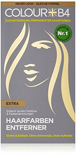 Colour B4 Extra Haarfarben-Entferner, 1er Pack (1 x 180 ml) - Braun Haar-entferner