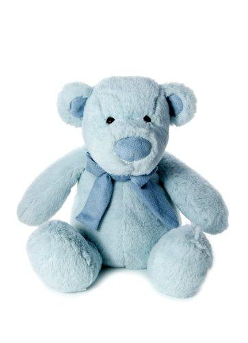 Osito de peluche azul para bebé niños animales de peluche - bebé recién nacidos suave primer oso