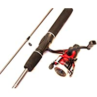 2 Piece Fishing Rod and Reel Combo
