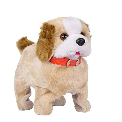 Prime Deals Battery Operated Fantastic Jumping Walking Barking & Jumping Puppy That Flips Over Toy Best for Toddlers and Kids