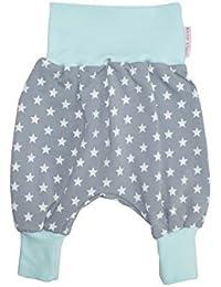 """Bebé pantalones de diseño de harén pantalones de """"Superstar"""" colour gris/Aqua"""