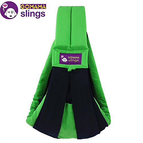 gomama-baby-sling-one-size-wrap-carrier-with-bags-fits-to-baby-fresh-green-by-go-mama-go
