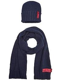 Calvin Klein conjunto bufanda, gorro y guantes para Hombre