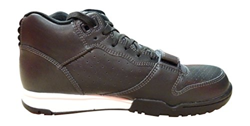 Nike Air Trainer 1 Mid, Scarpe sportive, Uomo anthracite black laser orange 004