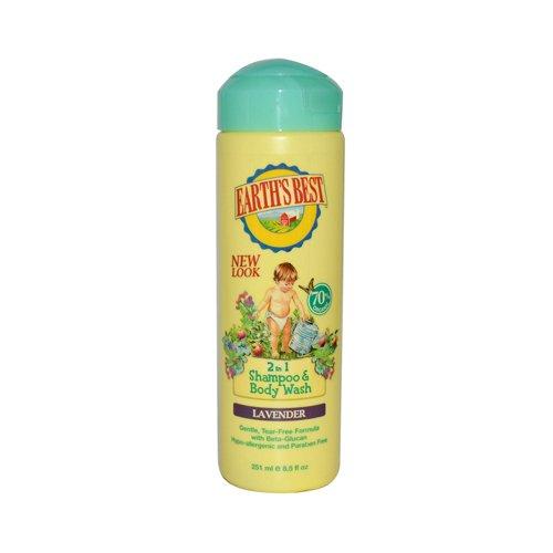 Earth's Best Organic Shampoo & Bodywash - 250ml