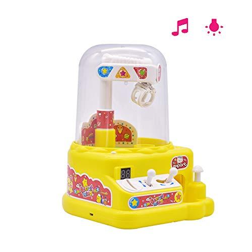 SLONG Children es Toys-Educational Toys Mini Sugar Gripper Schnappt die Puppen-Maschine Elektro-Greifmaschine,Yellow