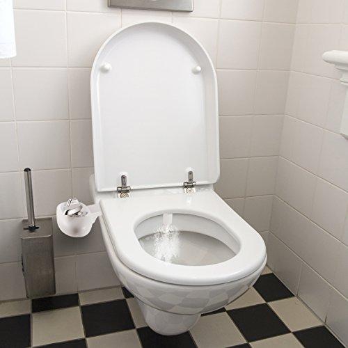 Bidet, Yegu Selbstreinigung Dual Düse Heiß und Kaltwasser Süßwasser Spray Einstellbare Nicht Elektrische Mechanische Bidet WC Sitzbefestigung mit Swivel Metall Schlauch Gelenk