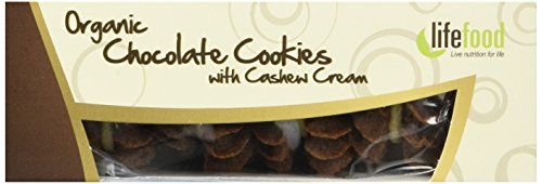 lifefood Chocolate Cookies gefüllt mit feiner Cashewcreme, 16er Pack (16 x 80 g)