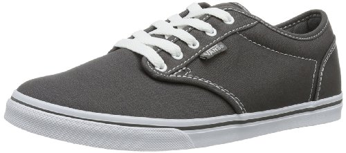 Vans W ATWOOD LOW (CANVAS) PEWTER, Damen Sneakers, 34.5 EU