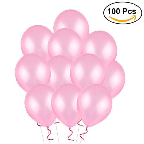 NUOLUX Latexballon für Party Dekoration 2,8 g Luftballons Spielzeug,12 Zoll, 100pcs ()