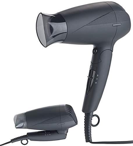 Sichler Beauty Föhn: Klappbarer Reise-Haartrockner mit Ionen-Technologie, 1.600 Watt (Haartrockner Kompakt)