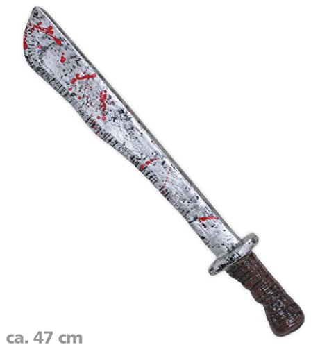 Halloween Machete, ca. 47 cm, Halloween, Party, Horror, Accessoire