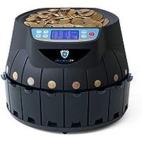 Contador de monedas Euro SR1850 (función de impresión opcional) (negro)