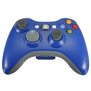 Althemax® Neue drahtlose drahtlose Schlag-Spiel Joypad Steuerpult für Xbox 360 – Blau