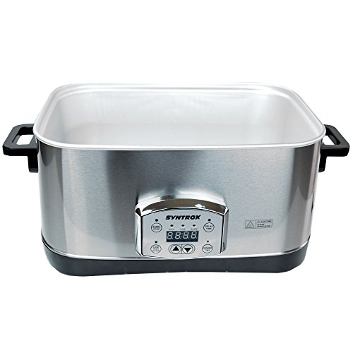 Syntrox Germany 7,5 l Slow Chef SC-750D Schongarer - 9