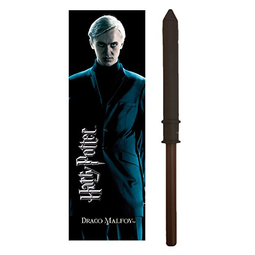 Harry Potter Pen & Bookmark Draco Malfoy Noble Collection (Draco Zauberstab Malfoy)