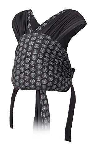 Infantino Porte-bébé Together 3,6 à 11,3kg écharpe de portage simple à enfiler avec assise ergonomique