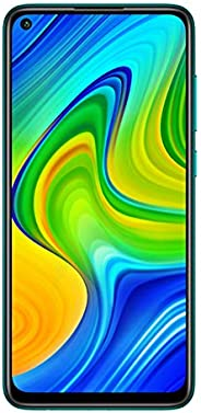 Redmi Note 9 (Aqua Green, 4GB RAM, 64GB Storage) - 48MP Quad Camera & Full HD+ Dis
