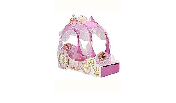 Letto Carrozza Disney : Disney letto per bambini a forma di carrozza principesse 452dnp