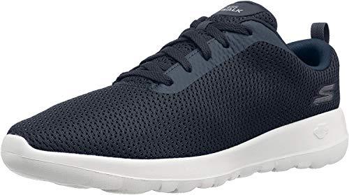 Skechers Damen GO Walk MAX-PRIVY-15601 Sneaker, Blau (Navy/Weiß), 40 EU