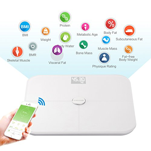 Rukerway Smart Bilancia Bluetooth cf5ae3ca85b