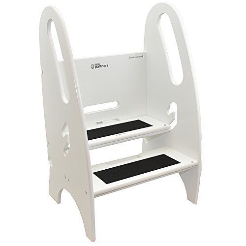 Little Partners 3-in-one Sgabello (Bianco)