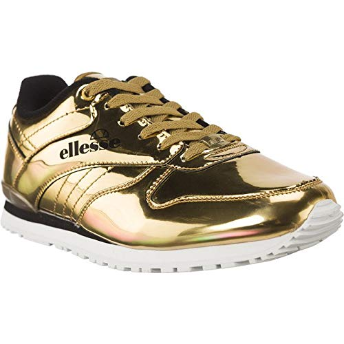 ellesse Damen Sneakers Heritage City Runner Metallic Runner goldfarben 37
